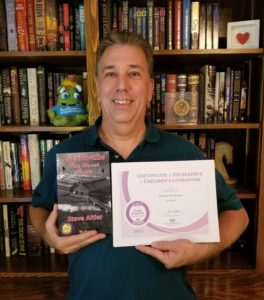 Purple Dragonfly Book Award.